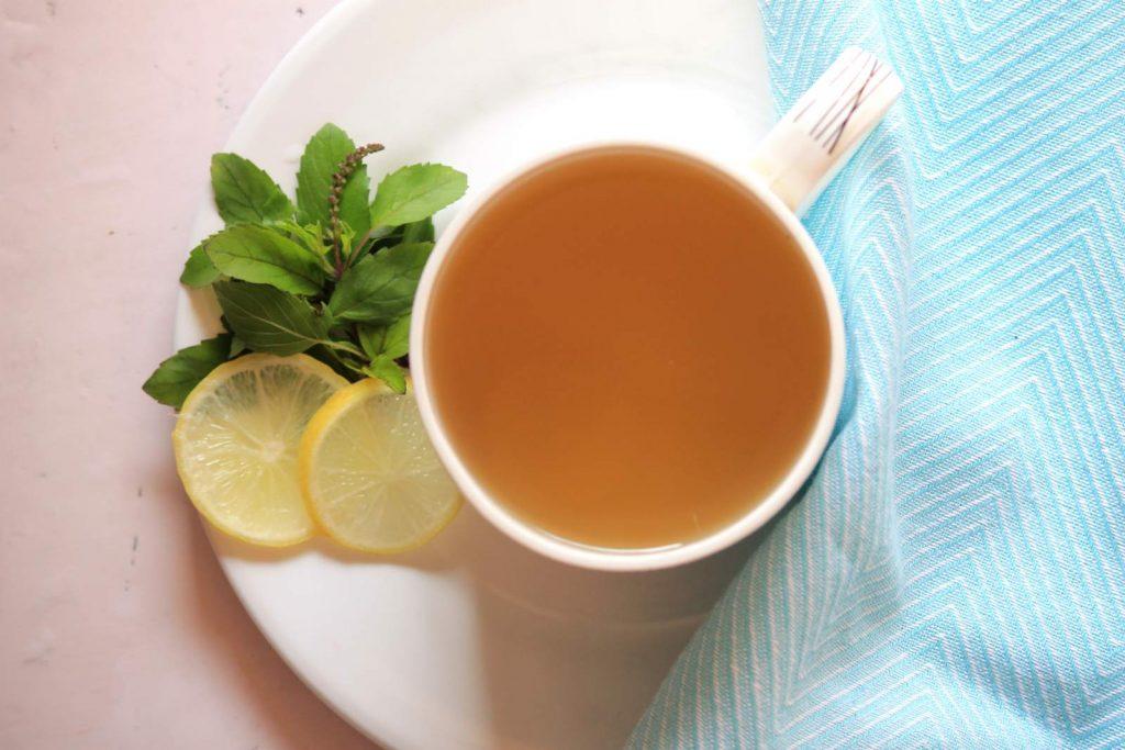 Tulsi-Ginger Water
